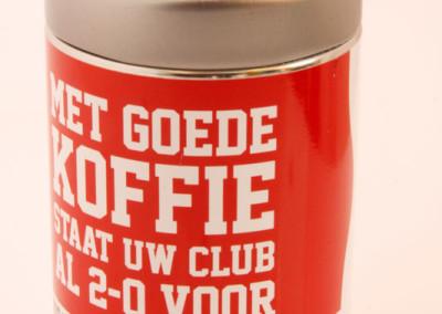 Koffieblik Douwe Egberts