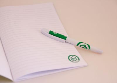 Schrift en pen FC Groningen