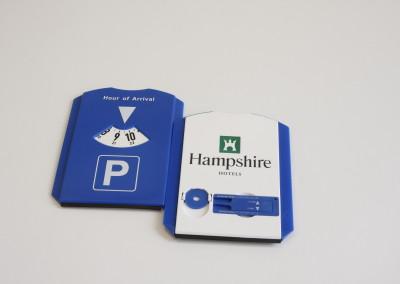 Parkeerschijf Hampshire