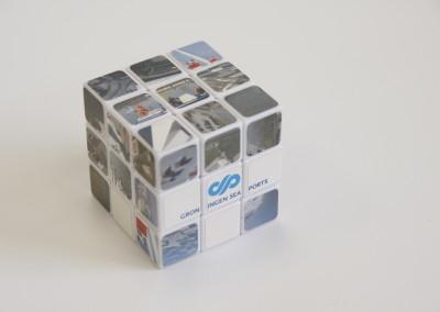 Rubix cube Groningen Seaports