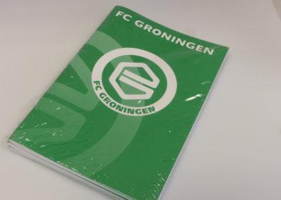 Schrift FC Groningen